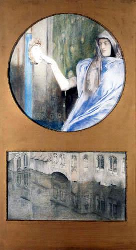 Fernand Khnopff - Secret-Reflet