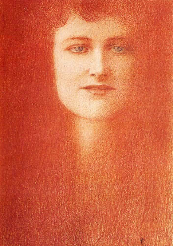 Fernand Khnopff - Study of women