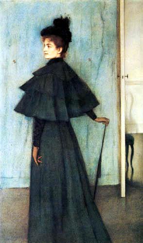 Fernand Khnopff - Portrait Madame Botte
