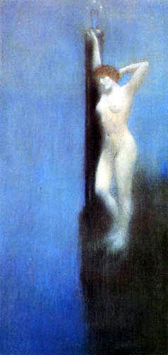 Fernand Khnopff - Sapho