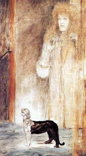 Fernand Khnopff - Die Schimäre