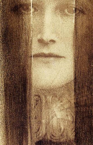 Fernand Khnopff - The veil