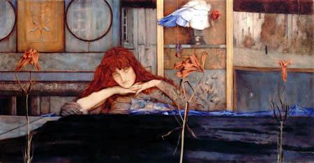 Fernand Khnopff - I lock my door upon myself