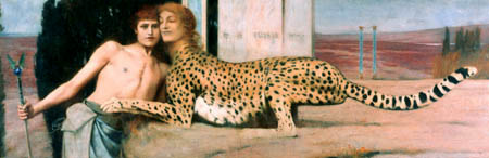 Fernand Khnopff - The Sphinx