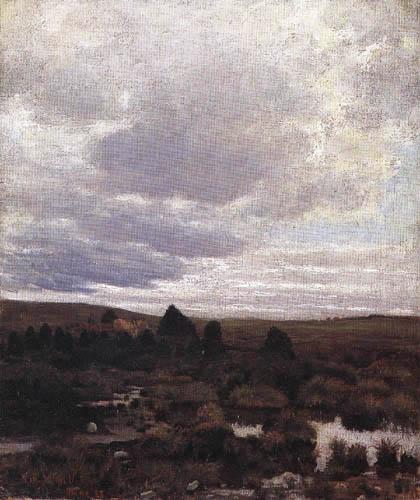 Kitty L. Kielland - Peat Bog near Jæren