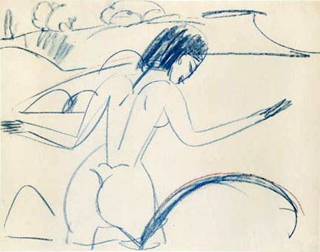 Ernst Ludwig Kirchner - Bathing Women, Fehmarn