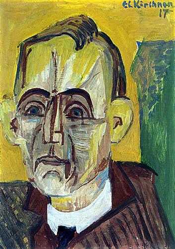 Ernst Ludwig Kirchner - Bildnis Eberhard Grisebach