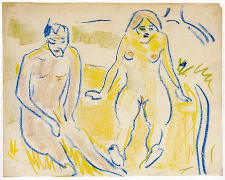 Ernst Ludwig Kirchner - Mann und Frau