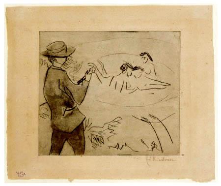Ernst Ludwig Kirchner - Badende an den Moritzburger Seen