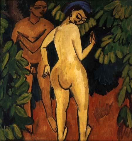 Ernst Ludwig Kirchner - Adam und Eva
