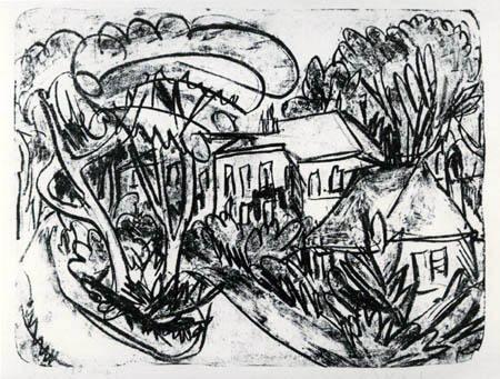 Ernst Ludwig Kirchner - Garten Staberhof