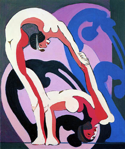 Ernst Ludwig Kirchner - Akrobatenpaar