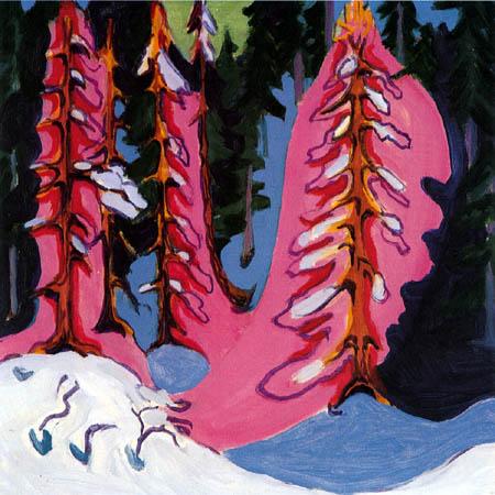 Ernst Ludwig Kirchner - Am Waldrand