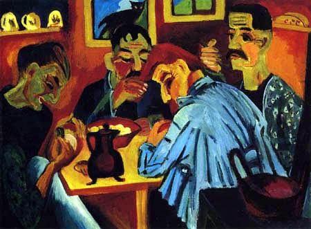 Ernst Ludwig Kirchner - Bauernmittag