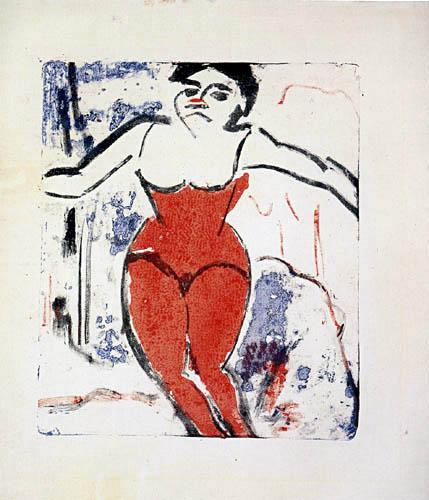 Ernst Ludwig Kirchner - Um Beifall heischende Artistin