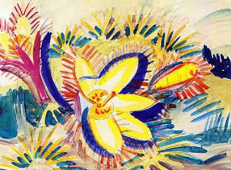 Ernst Ludwig Kirchner - Berganemone