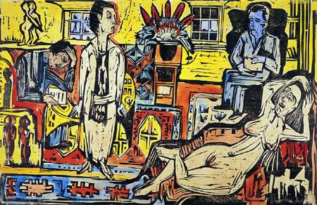 Ernst Ludwig Kirchner - Bohème moderne