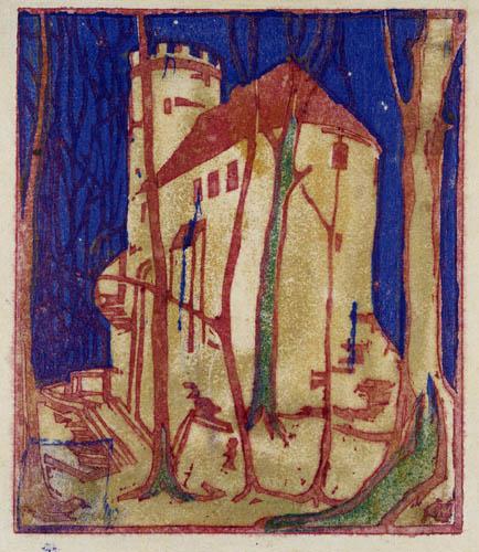 Ernst Ludwig Kirchner - Burg Rabenstein bei Chemnitz