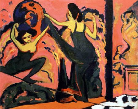 Ernst Ludwig Kirchner - Der Drahtseiltanz