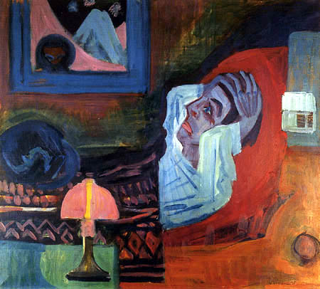 Ernst Ludwig Kirchner - The patient