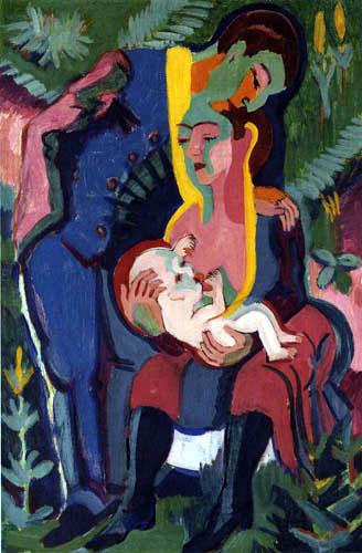 Ernst Ludwig Kirchner - Die Familie
