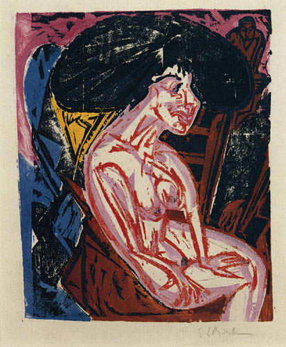 Ernst Ludwig Kirchner - The Mistress II