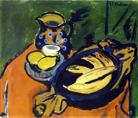 Ernst Ludwig Kirchner - Bol en bois