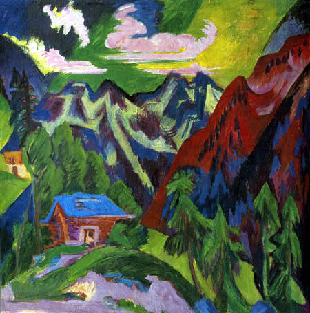Ernst Ludwig Kirchner - The Mountains of Klosters