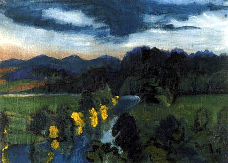 Ernst Ludwig Kirchner - Die Mulde bei Lichtenwalde