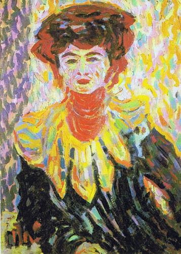 Ernst Ludwig Kirchner - Doris mit Halskrause