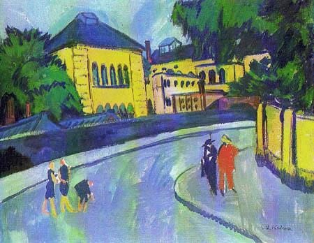 Ernst Ludwig Kirchner - Dresden-Friedrichstadt