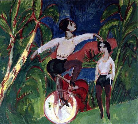 Ernst Ludwig Kirchner - Monocyclist