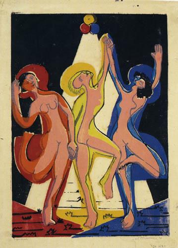 Ernst Ludwig Kirchner - Farbentanz