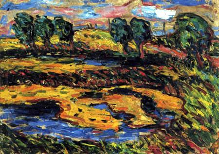Ernst Ludwig Kirchner - Fehmarnteich