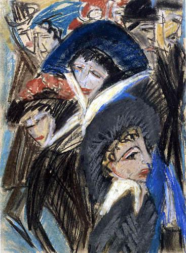 Ernst Ludwig Kirchner - Women on the Street