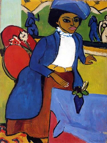 Ernst Ludwig Kirchner - Frauenbildnis