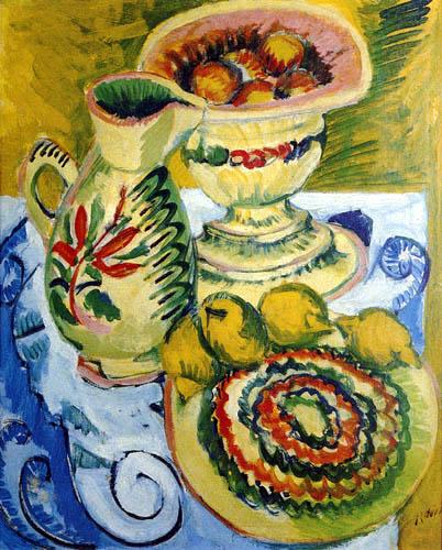 Ernst Ludwig Kirchner - Gelbes Stilleben