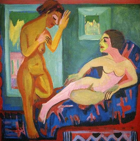 Ernst Ludwig Kirchner - Harem