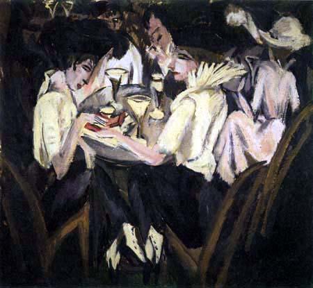 Ernst Ludwig Kirchner - Le Café