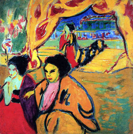 Ernst Ludwig Kirchner - Japanisches Theater