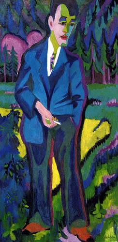 Ernst Ludwig Kirchner - Der junge Künstler Hans Schiess
