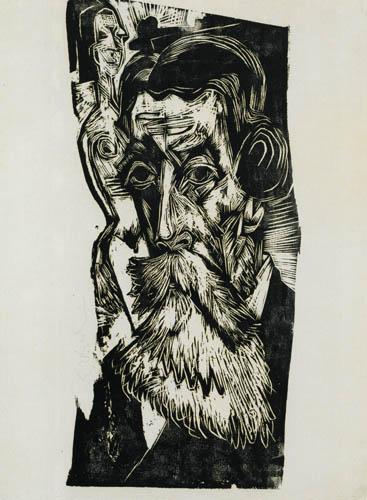 Ernst Ludwig Kirchner - Bildnis Ludwig Schames