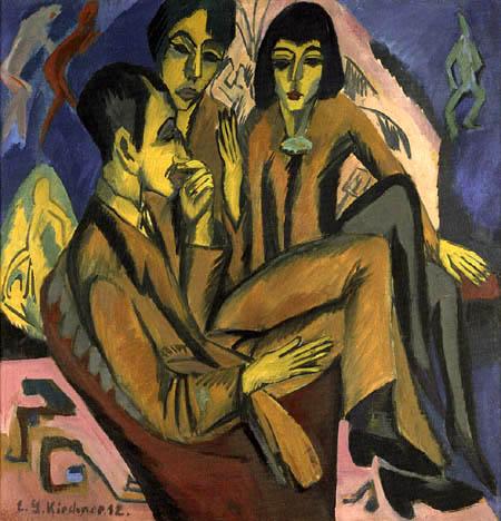 Ernst Ludwig Kirchner - Künstlergruppe