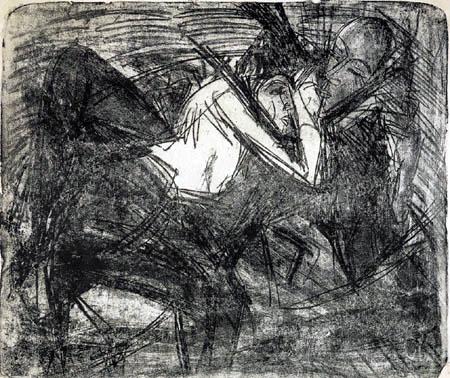 Ernst Ludwig Kirchner - Liebespaar