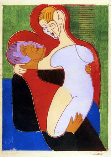 Ernst Ludwig Kirchner - Los Amantes