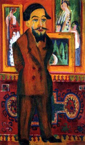 Ernst Ludwig Kirchner - Bildnis Leon Schames