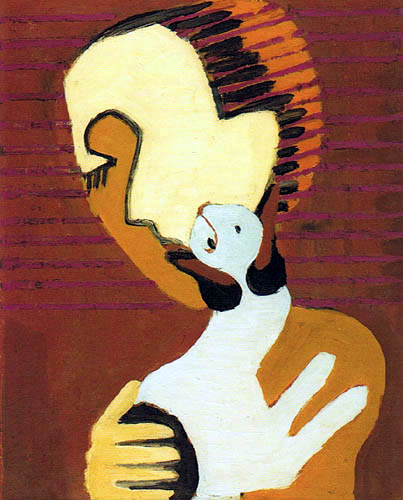 Ernst Ludwig Kirchner - Man with Cat