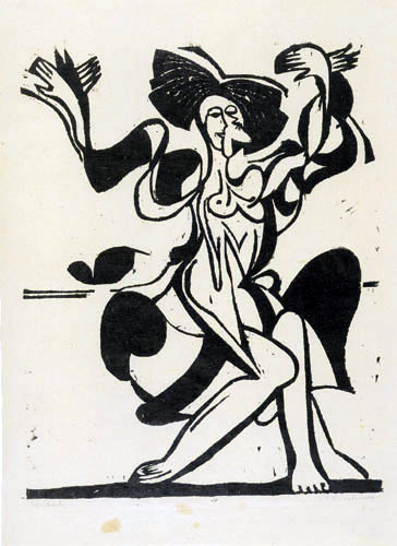 Ernst Ludwig Kirchner - Mary Wigman - Tanz