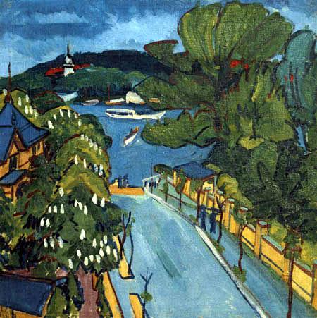Ernst Ludwig Kirchner - Der Müggelsee bei Berlin