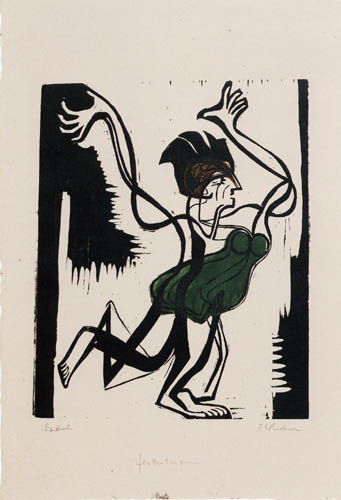 Ernst Ludwig Kirchner - Palucca